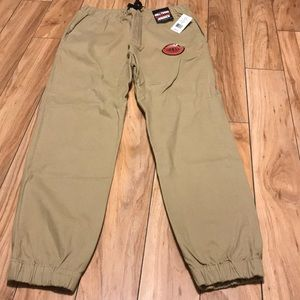 New with tags khaki joggers size large